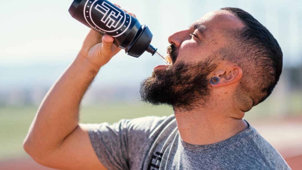 hidratación running
