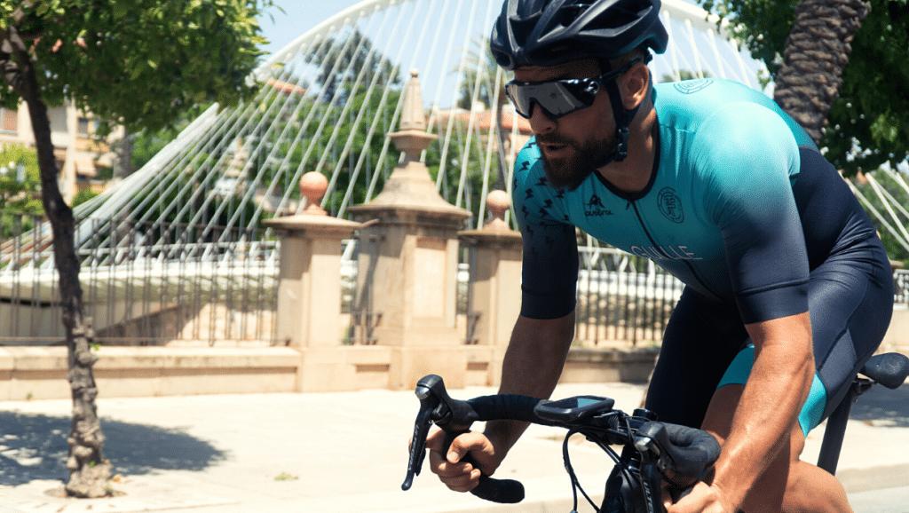 Relación vatios-kilo en ciclistas